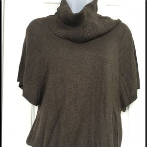 Cowl Neck Knit Sweater Top